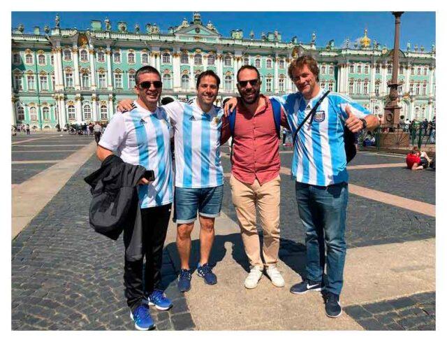 aficionados argentinos san peterburgo mundial rusia 2018