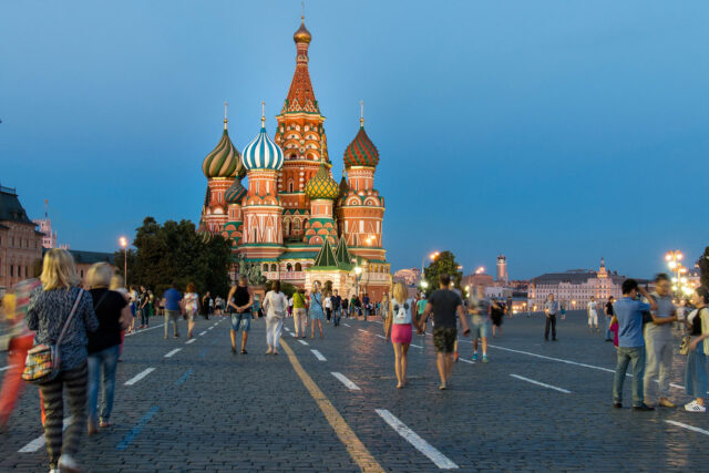 plaza roja catedral san basilio moscu rusia