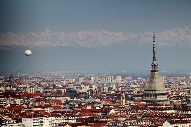 panoramica turin italia