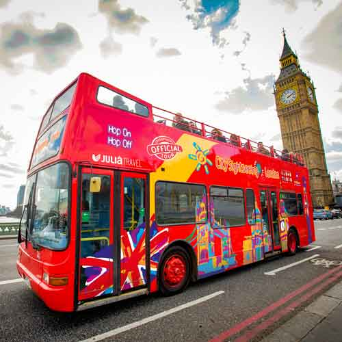 city sightseeing londres