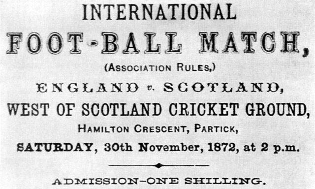 inglaterra escocia 1872