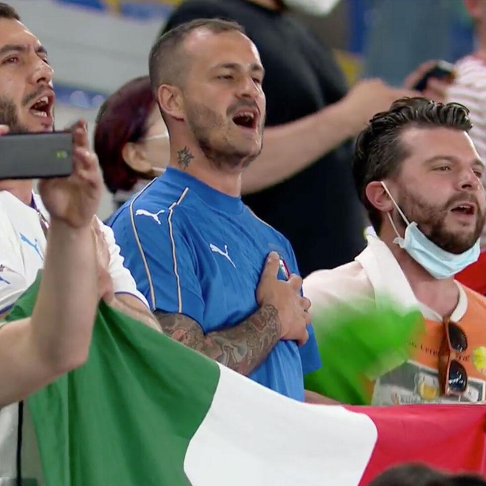 aficionados italia himno