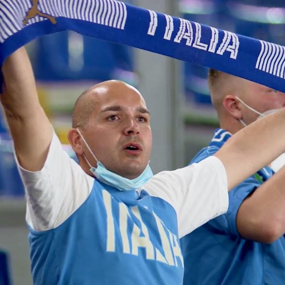 aficionado italia bufanda
