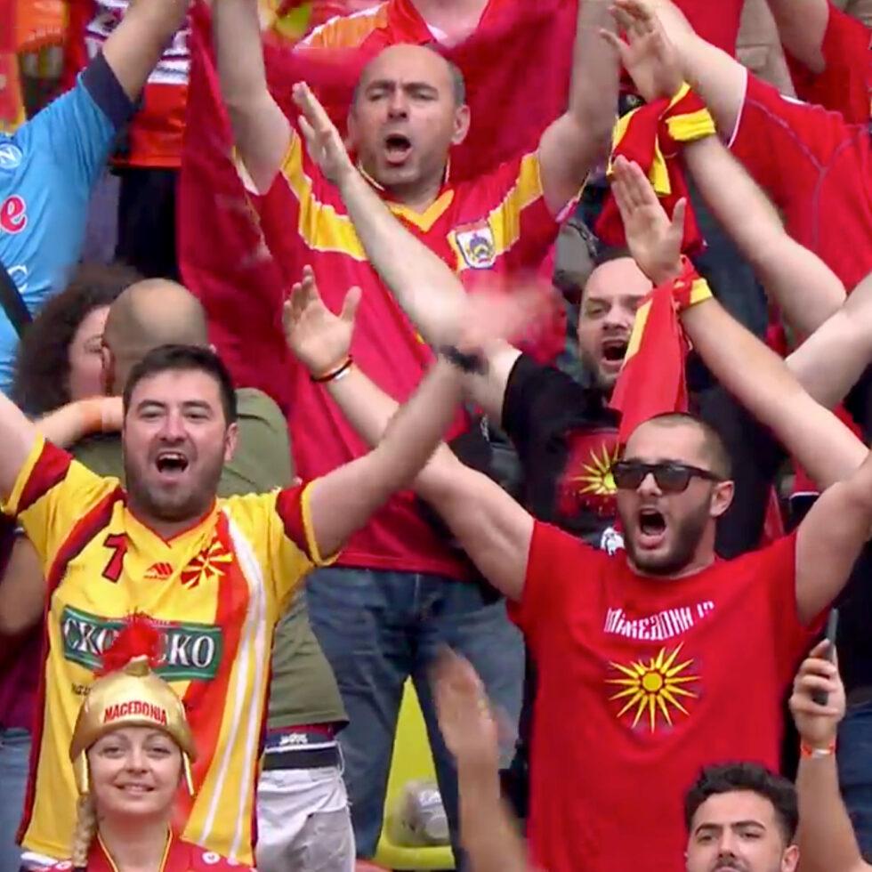 aficionados macedonia norte