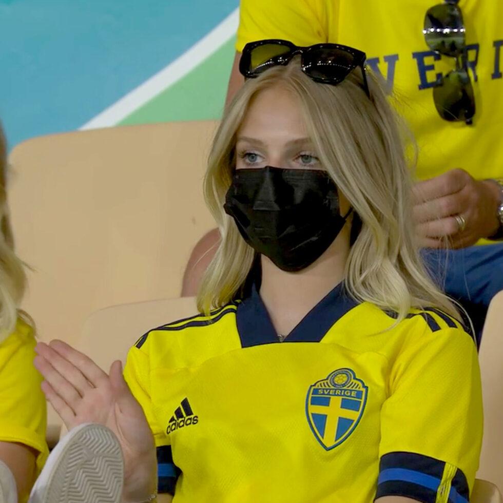 aficionada de suecia