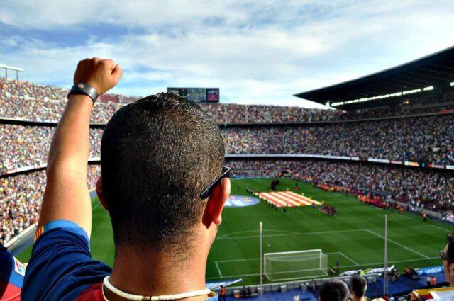 aficionados fc barcelona camp nou